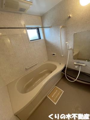 一坪で使いやすいお風呂です