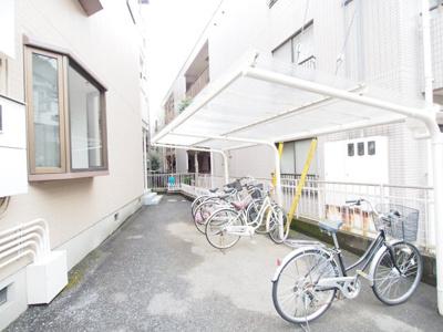 駐輪場、バイク