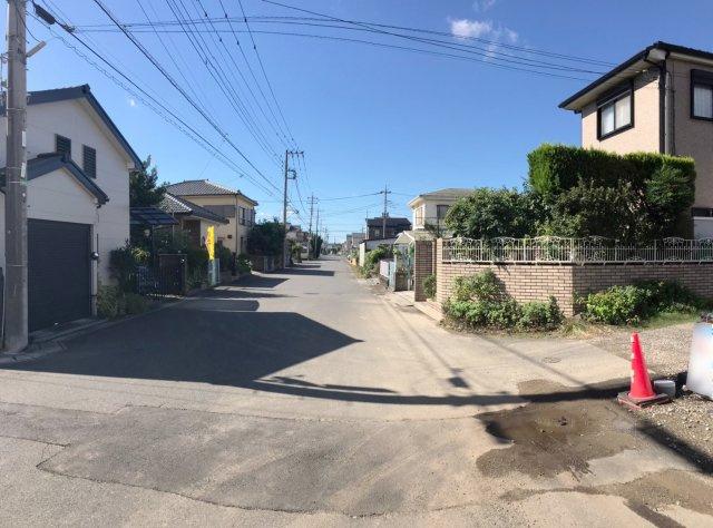 【前面道路含む現地写真】松戸市栄町15期 全2棟