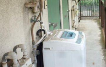 洗濯機置き場☆
