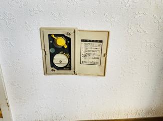 習志野七ツ台住宅 各箇所にガス栓がございます!冬場も安心です!