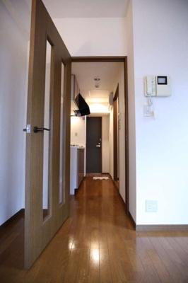 【玄関】パークウェル麻布十番