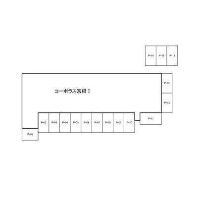 【区画図】コーポラス宮根Ⅰ