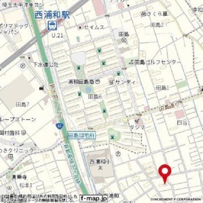 【地図】コーポラス宮根Ⅰ