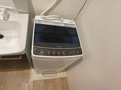 洗濯機置き場、洗濯機