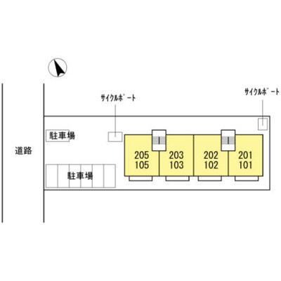 【区画図】サンハイム徳力