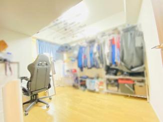 オハナ船橋習志野台 お布団を干すのに便利なサービススペース付きの洋室です♪