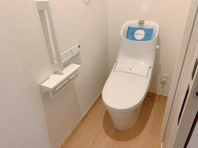 落ち着いたトイレです。