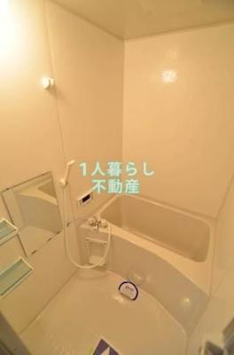 広々とした浴室でした