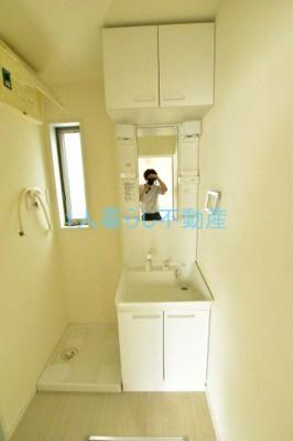 独立洗面台付きのお部屋です