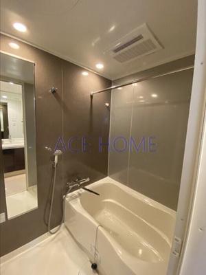 【浴室】カスタリアタワー肥後橋