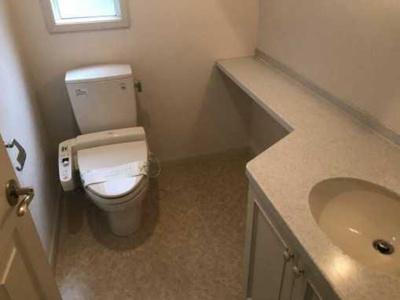 【トイレ】土田邸 礼金0 駐車場1台付 全館空調 ウォシュレット