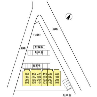 【区画図】プレジデントタカヤ