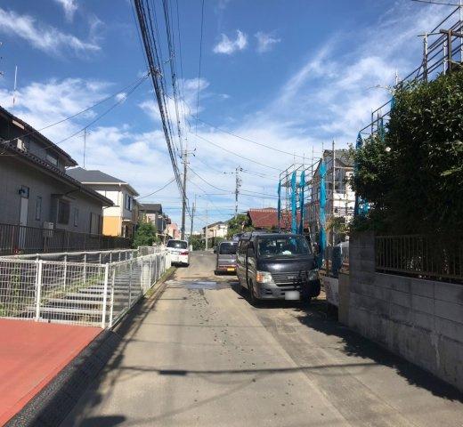 【前面道路含む現地写真】松戸市栄町16期 全4棟