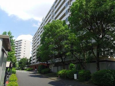 【外観】昭島つつじが丘ハイツ北15号棟