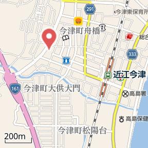 【地図】サニーヒル今津
