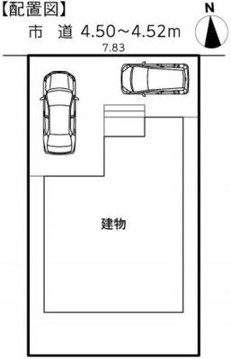 【区画図】浜松市東区小池町 21-1期 新築一戸建て ID