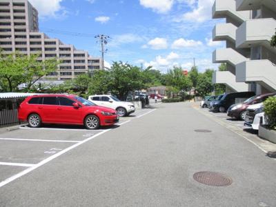 【駐車場】グリーンコーポジェームス山弐番館