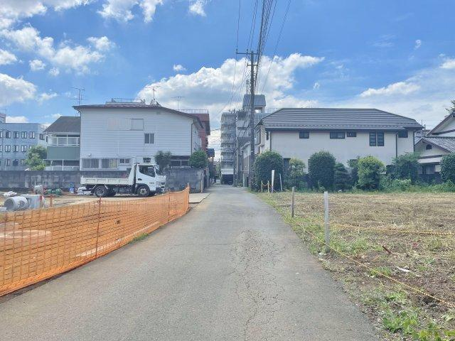 【前面道路含む現地写真】西東京市富士町3丁目 全21区画 1区画