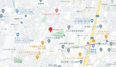 【地図】アウローラ