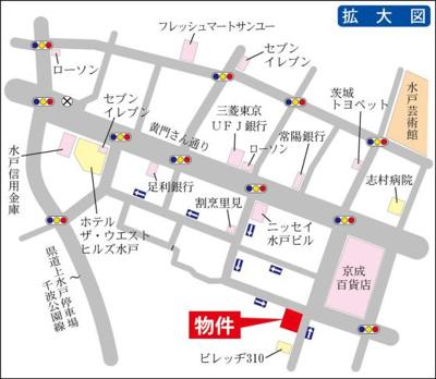 京成百貨店まで徒歩1分!