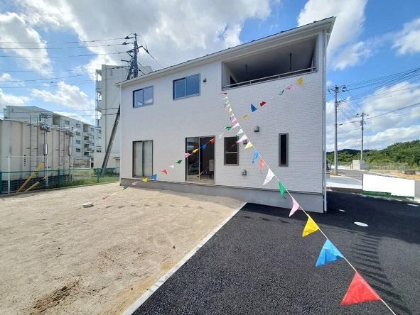 【前面道路含む現地写真】水戸市見川町新築第5/4号棟