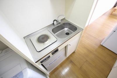 【キッチン】レオパレスノムラ