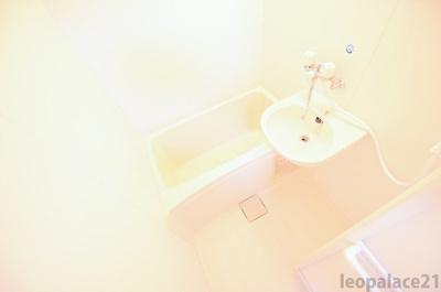【浴室】レオパレスイケダ