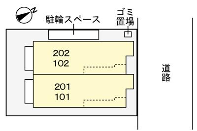 【区画図】ワイズ・喜沢