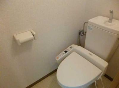 【トイレ】S・ファミーユ ペット飼育可 ルーフバルコニー オートロック