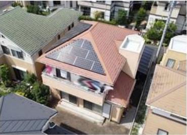 太陽光発電システム搭載、オール電化仕様です。