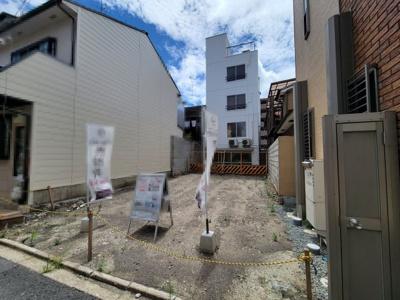 【外観】下京区朱雀裏畑町 建築条件無 売土地