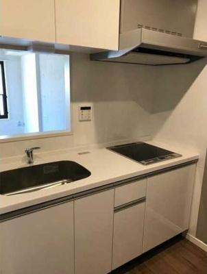 【キッチン】ウェルスクエアイズム三軒茶屋 2人入居可 駅近 浴室乾燥機