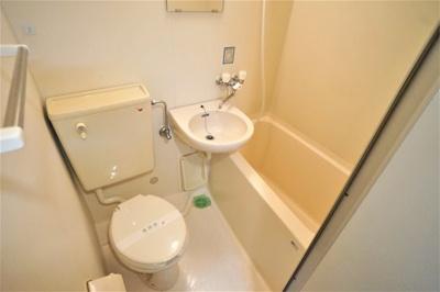 バス・トイレ・洗面台※写真は別のお部屋です