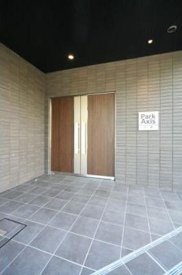 【エントランス】パークアクシス三宿 ファミリー向け ペット相談可 浴室乾燥機
