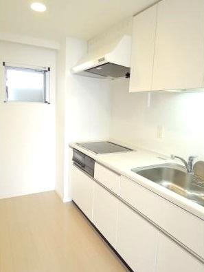 【キッチン】パークアクシス三宿 ファミリー向け ペット相談可 浴室乾燥機