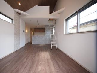 (現地写真)建物の基礎や構造などにもこだわった安心の家。