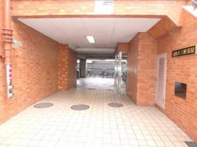 【エントランス】グレイス三軒茶屋 フルリノベーション 分譲賃貸 浴室乾燥機