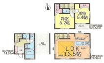 名古屋市西区則武新町1丁目27−10 【仲介手数料無料】新築一戸建て 2号棟の画像