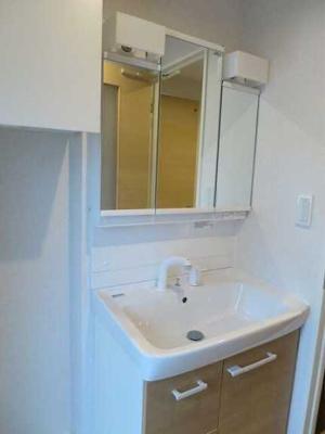 【洗面所】MARI'S Apartment ネット無料 2人入居可 オートロック