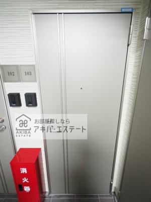 【玄関】LAUREL三ノ輪