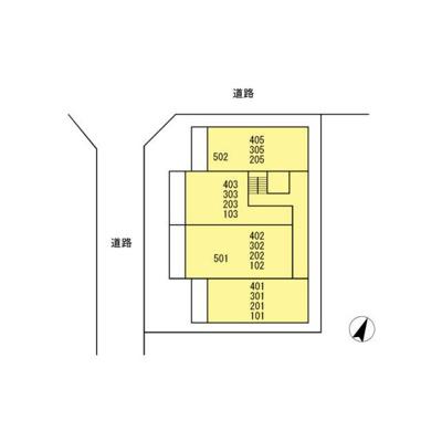 【区画図】SKYSHOREスカイショア