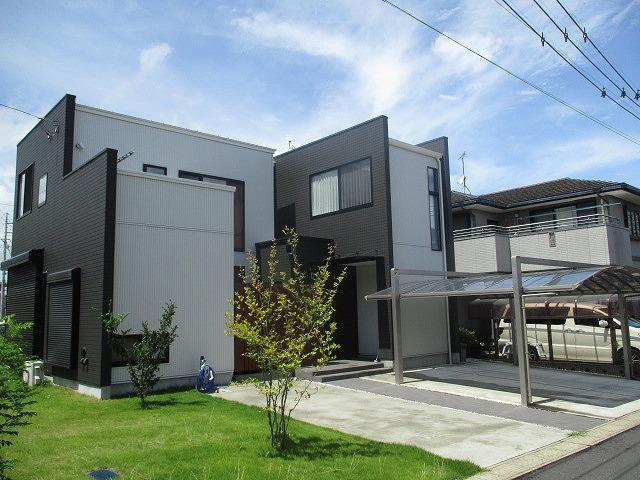 【前面道路含む現地写真】笠原町中古戸建