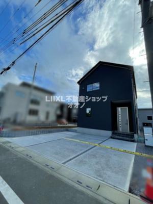 【外観】加須市北下新井 新築分譲住宅全3棟 LIGNAGE3号棟