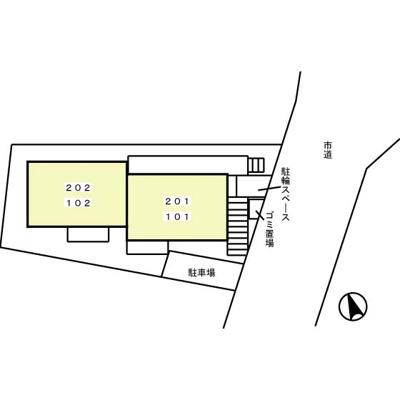 【区画図】アミティエ