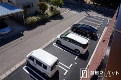【駐車場】リビエルKⅢ