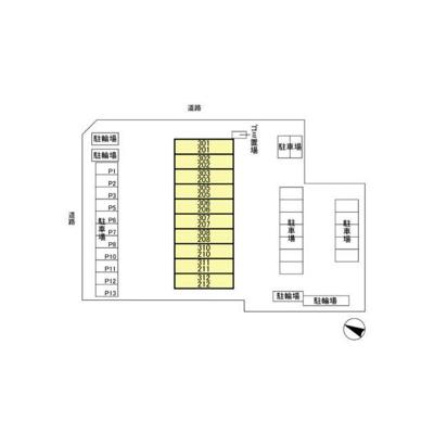 【区画図】グランフォルム東林間(グランフォルムヒガシリンカン)