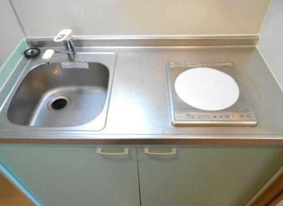 【キッチン】クレンティア三軒茶屋 オートロック 独立洗面台 宅配BOX