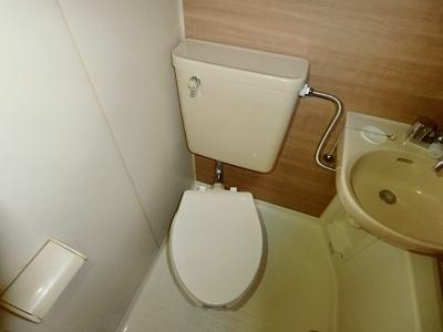 【トイレ】クレールハイツ