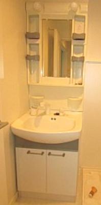 【洗面所】ExcelCourt下馬 デザイナーズ 独立洗面台 バストイレ別